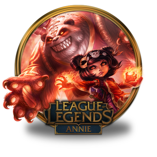 Annie Panda Icon League Of Legends Gold Border Iconset