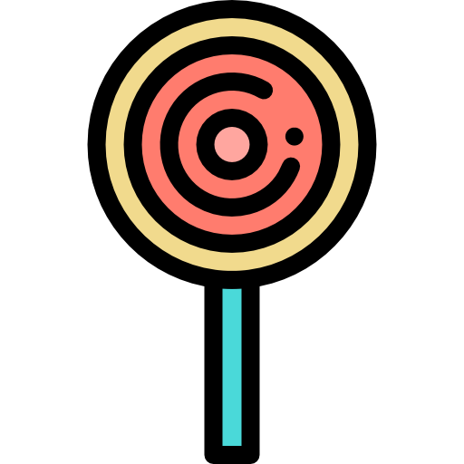 Lollipop Icon Desserts And Candies Color Freepik