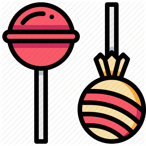 Food, Lollipop, Sweet, Toffee Icon