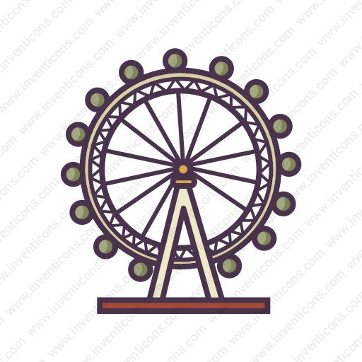 Download London,eye Icon Inventicons
