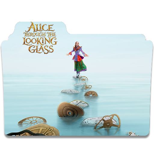 Alice Through The Looking Glass Folder Icon