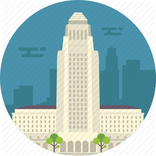 California, Los Angeles, Los Angeles City Hall, World Famous