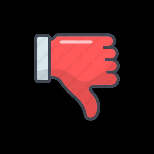 Download Deslikelose Icon Inventicons