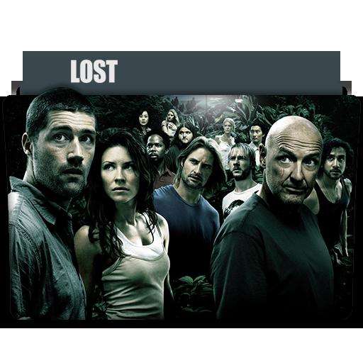 Lost Tv Series Folder Icon