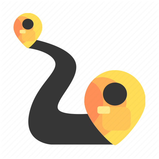 Delivery, Location, Pin, Road, Route, Shipping Icon