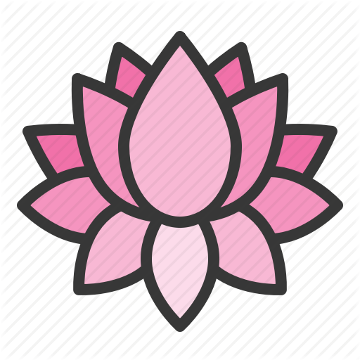 Flora, Floral, Flower, Lotus, Spa Icon