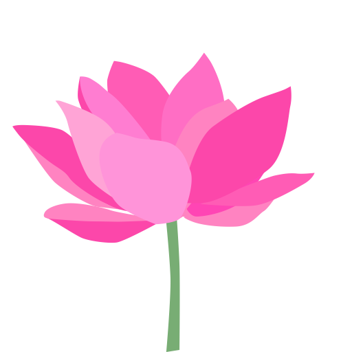Flower, Lotus, Lotus Flower Icon With Png And Vector Format