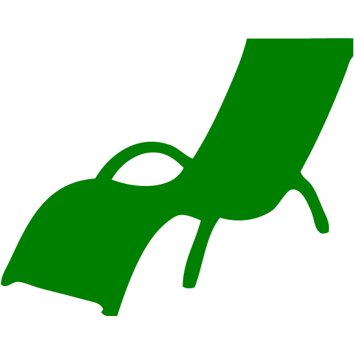 Green Lounge Chair Icon