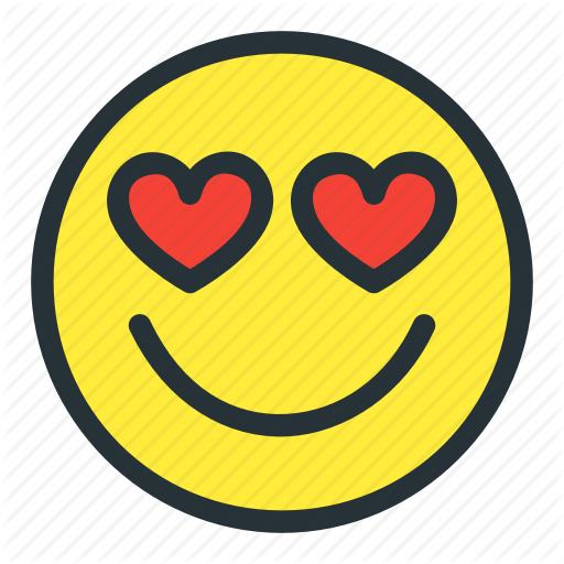 Emoji, Emoticons, Face, Heart, Love, Lovely, Smiley Icon