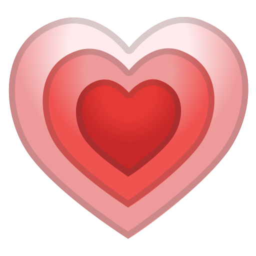 Growing Heart Icon Noto Emoji People Family Love Iconset Google
