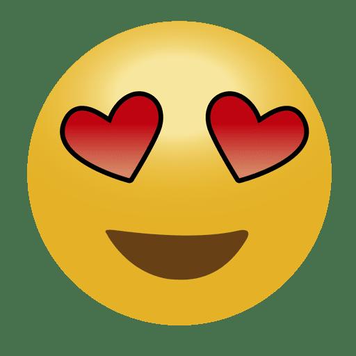 In Love Emoji Emoticon