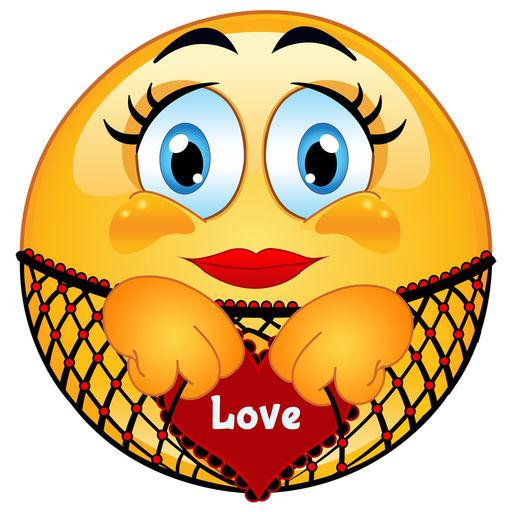 Love Emoji Icons Romantic Emoticons