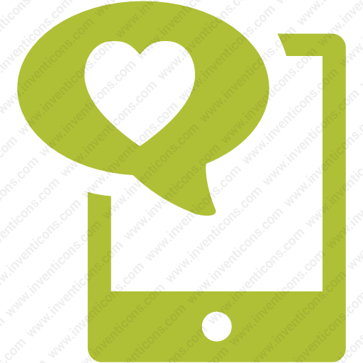 Download Device,horizontal,ipad,tablet,heart,love Icon Inventicons