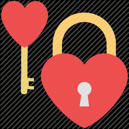 Heart Icons Key