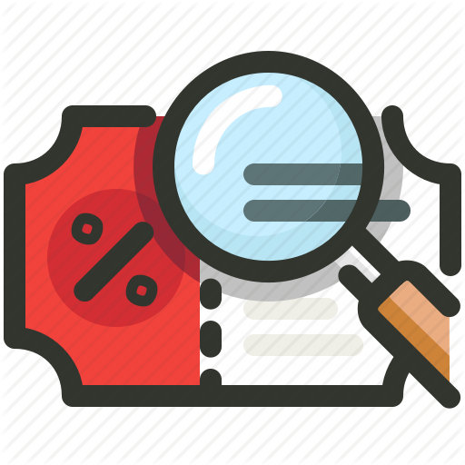 Coupon, Discount, Low Price, Search Icon