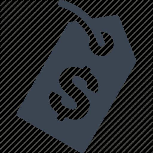 Price, Tag Icon