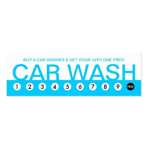 Bold Car Wash Customer Loyalty Cars