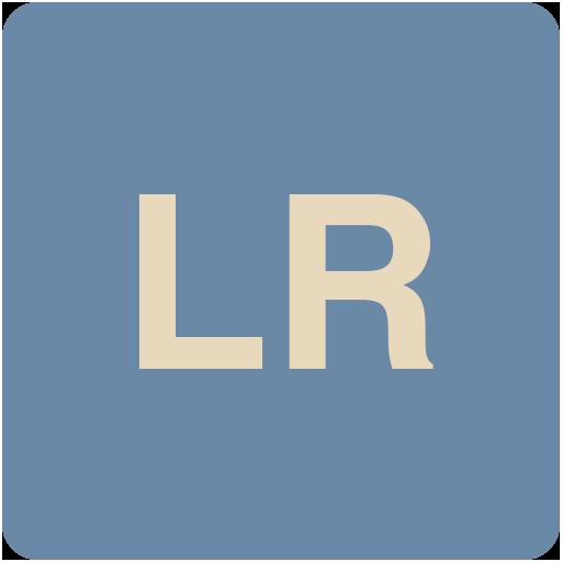Lr Icon Flat Retro Adobe Cc Iconset Grafikartes
