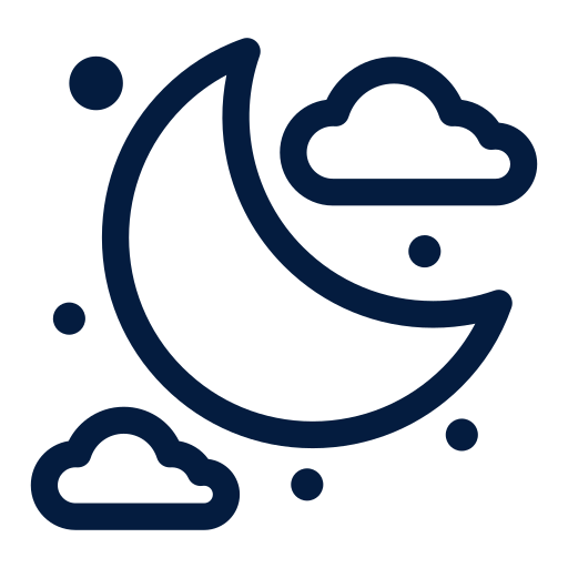 Night, Moon Icon Free Of Space And Astronomy Icons