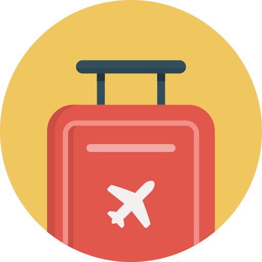 Luggage, Luggage Suitcase, Suitcase Icon With Png And Vector