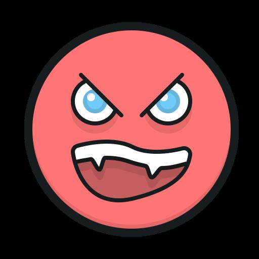 Angry Face, Smiley, Angry Emoji