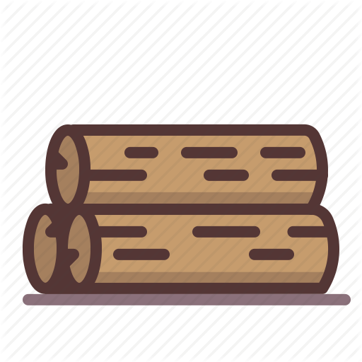 Chop, Firewood, Logging, Logs, Lumber, Saw, Wood Icon