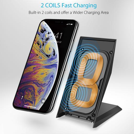 Choetech Qi Certified Fast Wireless Charger Choetech