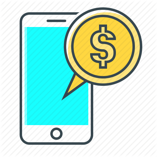 Coin, M Banking, Mobile, Mobile Banking, Phone, Smartphone Icon