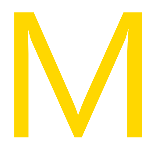 Letter M Icon Free