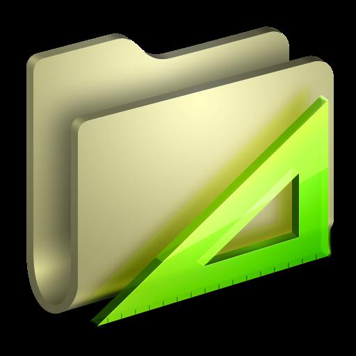 Applications Folder Icon Alumin Folders Iconset Wil Nichols