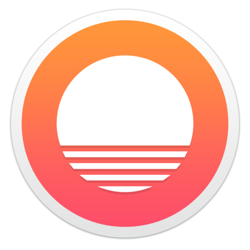 Sunrise Os X Icon Design Calendar App, Sunrise Calendar