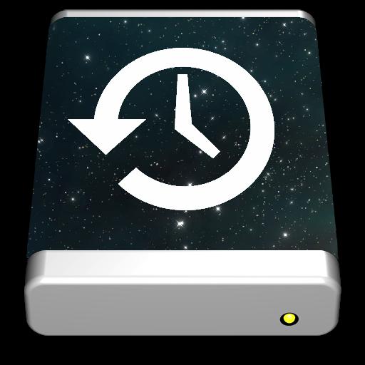 Time Machine Vortex Icon