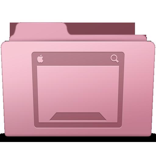 Desktop Folder Sakura Icon Smooth Leopard Iconset Mcdo Design