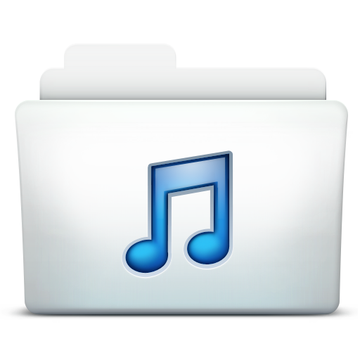 Folder Music Icons, Free Icons In Mac