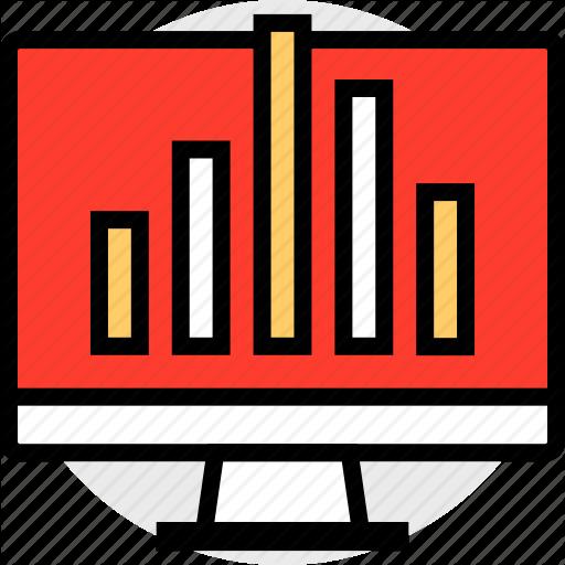 Bars, Computer, Data, Mac Icon