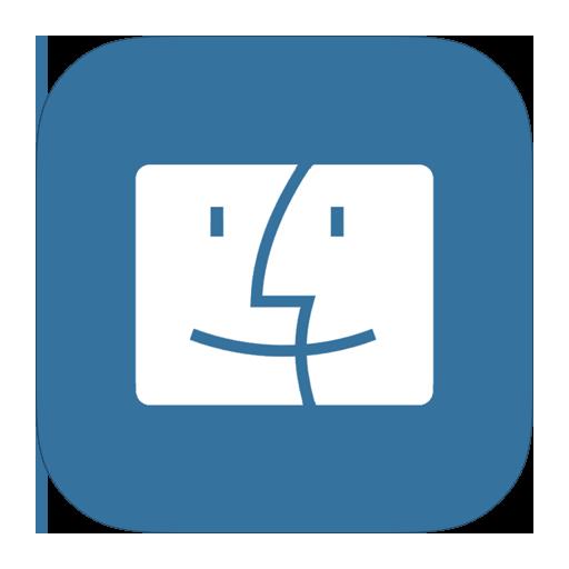 Metroui Folder Os Mac Finder Icon Style Metro Ui Iconset