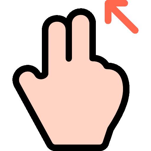 Swipe, Finger, Interactive, Pinch, Gesture, Scroll, Hand Icon