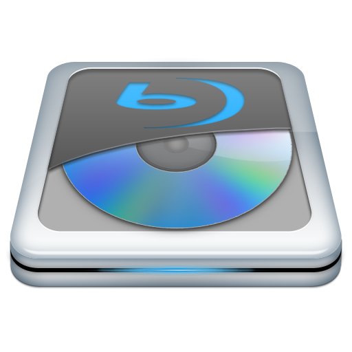 Blue Ray Drive Icon
