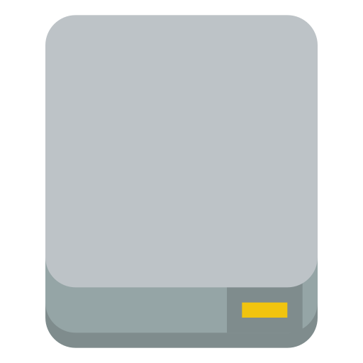Device Drive Icon Small Flat Iconset Paomedia