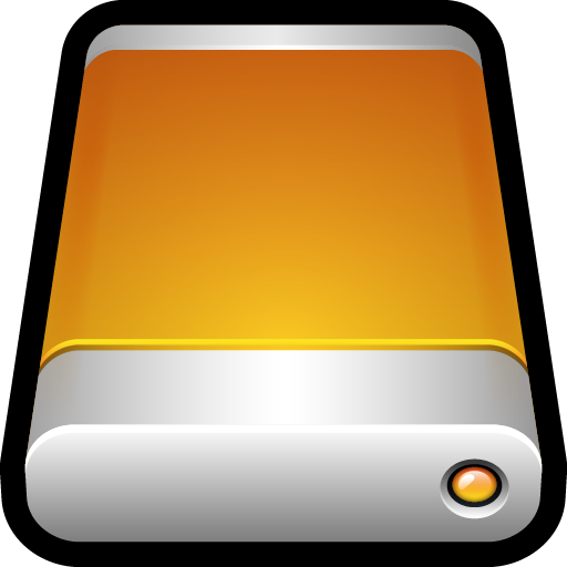 Mac, Storage, Disk, Drive, Removable, Generic Icon