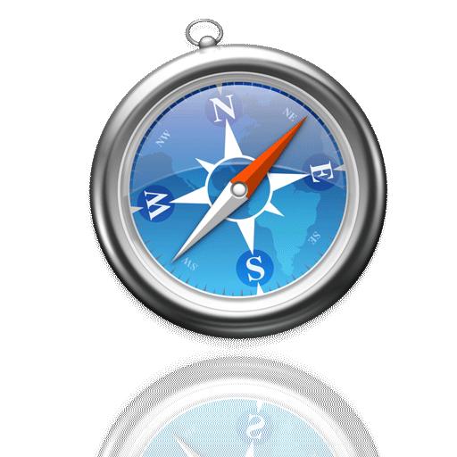 Mac Reflective Icons Set