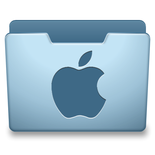 Ocean Blue Mac Icon