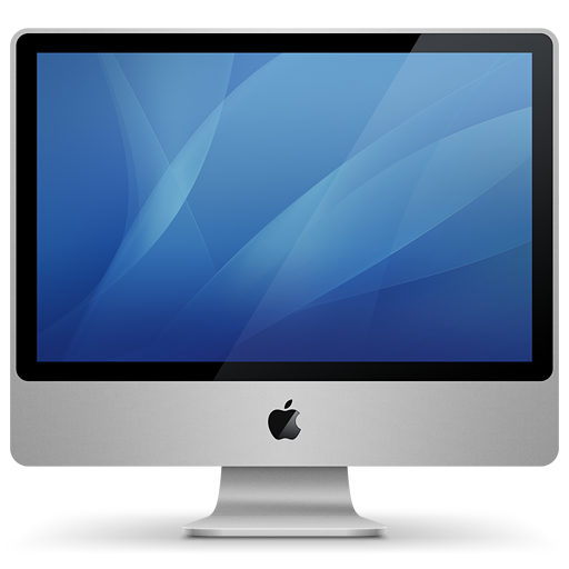 Imac Aluminum Icon Historic Mac Iconset Igabapple