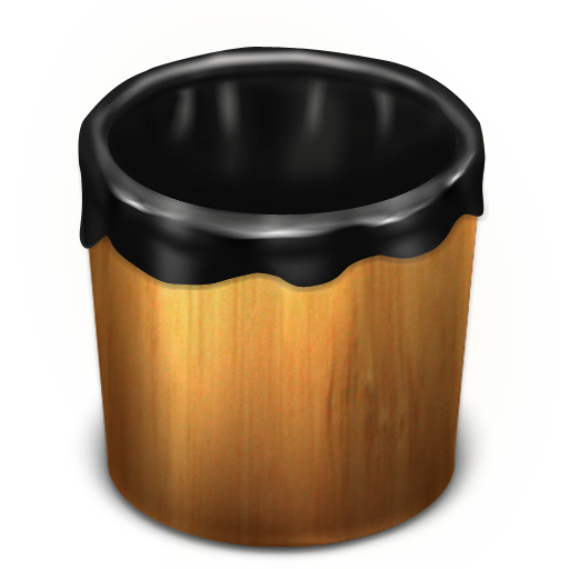 Trash Wood Empty Icon Trash Iconset