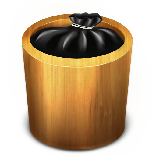 Trash Wood Full Icon Trash Iconset