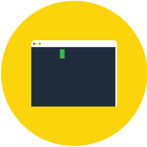 Code, Consol, Linux, Terminal Icon