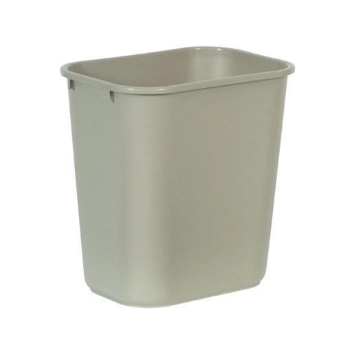 Desk Trash Can Medium Beige Plastic Desk Trash Can Desk Trash Can