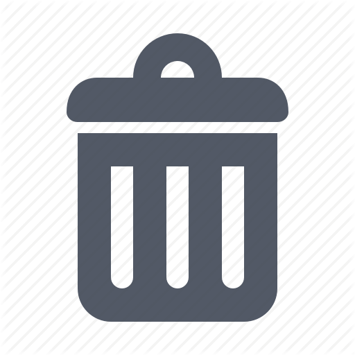 Pictures Of Trash Delete Icon Png