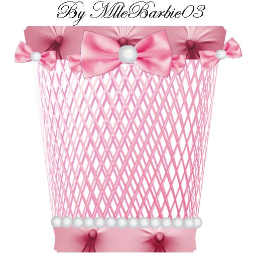 Pink Trash Icon