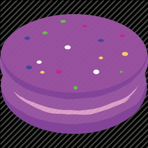 Cake, Candy, Dessert, Macaron, Sweets Icon